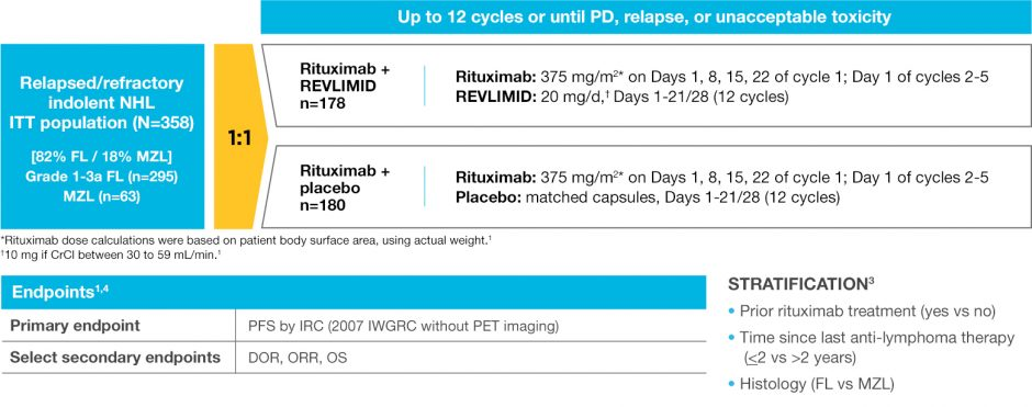 Learn about REVLIMID® (lenalidomide) and rituximab clinical trial design